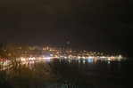 Scarborough by night
