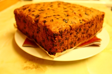 'Christmas cake'