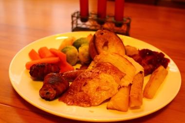Pavo asado/ Roast Turkey