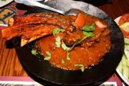 Chuleta de cordero karahi