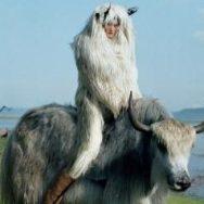 'Kirsi Pyrhönen in Mongolia' by Tim Walker, 2011