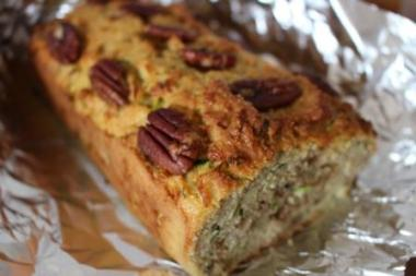 Courgette Walnut Bread