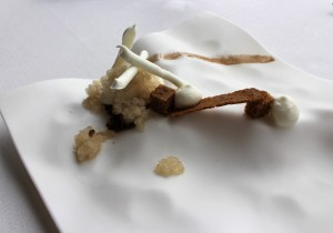 Yogur, miel y cinco especias - Yoghurt, honey and five spices
